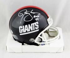 Lawrence Taylor Signed NY Giants 81-99 TB Mini Helmet w/HOF - Beckett W Auth