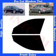 Pre Cut Window Tint BMW 5 series E61 Estate 5D 2005-2009 Front Sides Any Shade