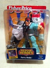 Rescue Heroes Perry Medic Physician Factory Sealed!