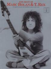 Il meglio di Marc Bolan abbia & T Rex chitarra Scheda Libro di Musica 70s GLAM POP