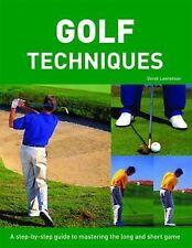 Step by Step Golf Techniques, Derek Lawrenson, New Book