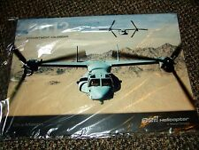 Collector 2013 Bell Helicopter Calendar MV-22 Osprey military Marines Army Air