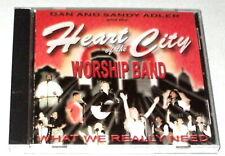 DAN & SANDY ADLER Heart of the City CD RARE CHRISTIAN