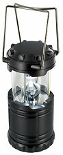 7 LED Collapsable Lantern with Hanging Hooks Ideal For Camping Military Outdoors