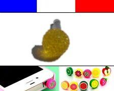 Cache anti-poussière jack universel iphone capuchon bouchon Boule strass 5