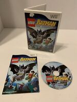 LEGO Batman: The Videogame (Nintendo Wii, 2008) Complete TESTED