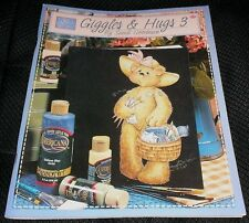 Giggles & Hugs 3 Sandi Goodman Tole Decorative Painting Book 576 Susan Scheewe