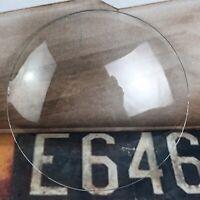 Antique Waterbury Mantle Clock Duotone Rosedale Glass lens Bezel Part
