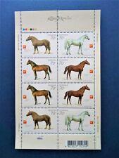 Horses of Ukraine Block of stamps 8 stamps 2005 Animals Україна