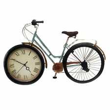 Vintage Metal Table Desk Clock Bicycle Designed for decorating home/as a gift