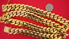 3/4 Kilo 750 Grams Miami Cuban Link Chain Solid 10k Yellow Gold Necklace Deal