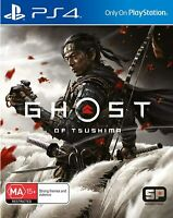 Ghost of Tsushima PS4 Playstation 4 Brand New Sealed