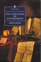 Two Treatises of Government [Everyman's Library]