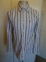 Mens Crew Clothing Long Sleeved Casual Shirt - Size Medium FREE P&P!