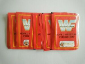 WWF Merlin 1992 10 Unopened  packs
