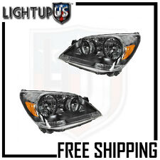 Headlights Headlamps Pair Left right set for 05-07 Honda Odyssey