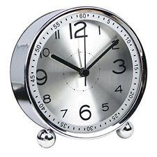 Chengsan 10,2cm ultra-silenzioso piccola sveglia in metallo, stile (H4F)