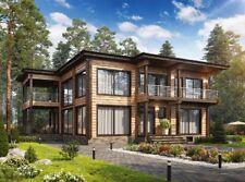 Modern Log House Kit Lh 239 Eco Friendly Wood Prefab Diy Building Cabin Home