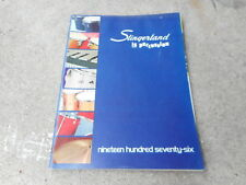 VINTAGE MUSICAL INSTRUMENT CATALOG #10003 - 1976 SLINGERLAND DRUMS PERCUSSION