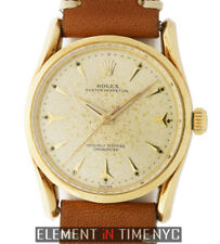 Rolex Oyster Perpetual Bombay 14k Yellow Gold 33mm 6590 Circa 1961