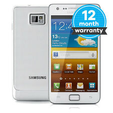 Samsung Galaxy S II GT-I9100 - 16GB - White (Unlocked) Very Good Condition