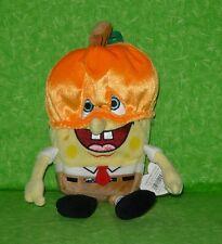 "Ty Beanies SPONGEBOB PUMPKINMASK Plush Stuffed Animal Toy 6"""