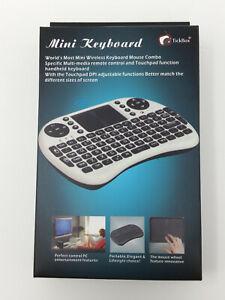 TickBox Wireless Mini Keyboard & Mouse Touchpad Combo Multimedia Remote - NEW