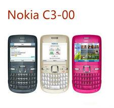 C3 Original Nokia C3-00 Blue WIFI 2MP Bluetooth Jave Unlock Smartphone
