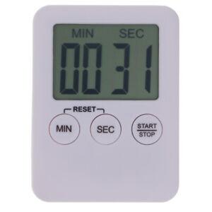 COUNTDOWN TIMER KITCHEN POCKET EGG MAGNETIC DIGITAL CLASSROOM COUNT UP  28/218/0