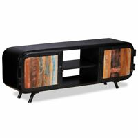 vidaXL TV Cabinet Reclaimed Wood Stand Entertainment Center Unit Sideboard