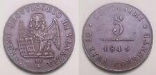 GOVERNO PROVVISORIO DI VENEZIA - 5 Centesimi 1849 (2)