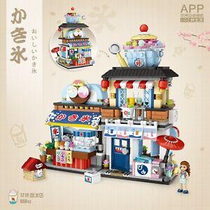 LOZ Japanese Shaved Ice Shop (1219)  Mini  Building Block Gift  668PCS
