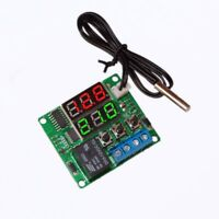 5V Digital Temperature Controller Thermostat Switch with NTC Waterproof Sensor