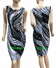 Unbranded Polyester Hand-wash Only Geometric Dresses for Women