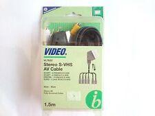 Bandridge VL7632 Estéreo S- VHS Cable AV - 1,5 m Original / Nuevo