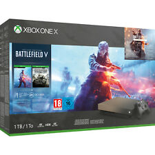 Microsoft Xbox One X 1TB Battlefield V: Deluxe Edition Gold Rush Special Edition