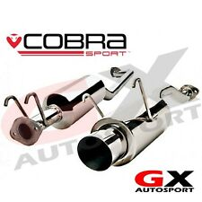 HN14 Cobra Sport Honda Civic Type R EP3 00-06 Cat Back Exhaust Round Tailpipe