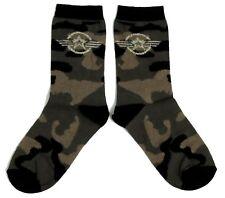0f45f92bcbbfe LADIES KHAKI CAMOUFLAGE US AIR FORCE STAR SOCKS UK 4-8 EUR 37-42