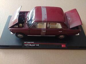 Modellino scala 118 FIAT MURAT 124