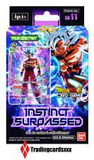 ♦Dragon Ball Super Card Game♦ Deck de Démarrage : Instinct Surpassed - VF/SD11