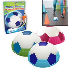 Xmas Kids Indoor Hover Ball Safe Soft Gliding Floating Foam Soccer Football Blue