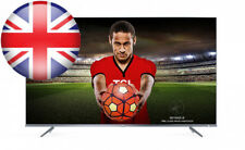 TCL 50DP648 50-Inch 4k Ultra Thin HD TV with Freeview Play - Silver (2018...