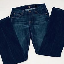 7 For All Mankind Jeans Kimmie Bootcut Women's Juniors 27x32 Stretch (OJ10298)
