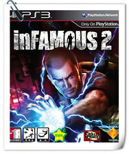 PS3 INFAMOUS 2 SONY PLAYSTATION SCE Action Adventure Games