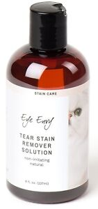 Eye Envy NR Tear Stain Remover Liquid Solution Removal System 8 oz Cat Dog Pet