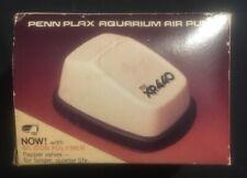 NOS Vintage Penn Plax XP-440 Twin Aquarium Air Pump 1980