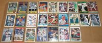 MLB Milwaukee Brewers Paul Molitor 1983-1994 baseball card lot of 25 NM cards