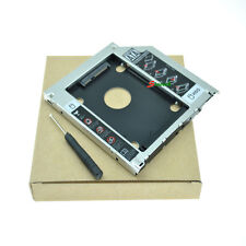 "2nd 9.5mm SATA HDD SSD Hard Drive Caddy Bay for MacBook Pro Unibody 13"" 15"" 17"""