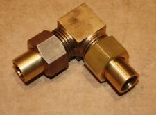"""Solder Olive 1/2"""" Equal Copper Pipe Union Elbow. Square Bodied."""