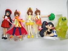 """CardCaptor Sakura 3.5"""" Figure Hg Series Set Collection Gashapon Bandai2004 Japan"""